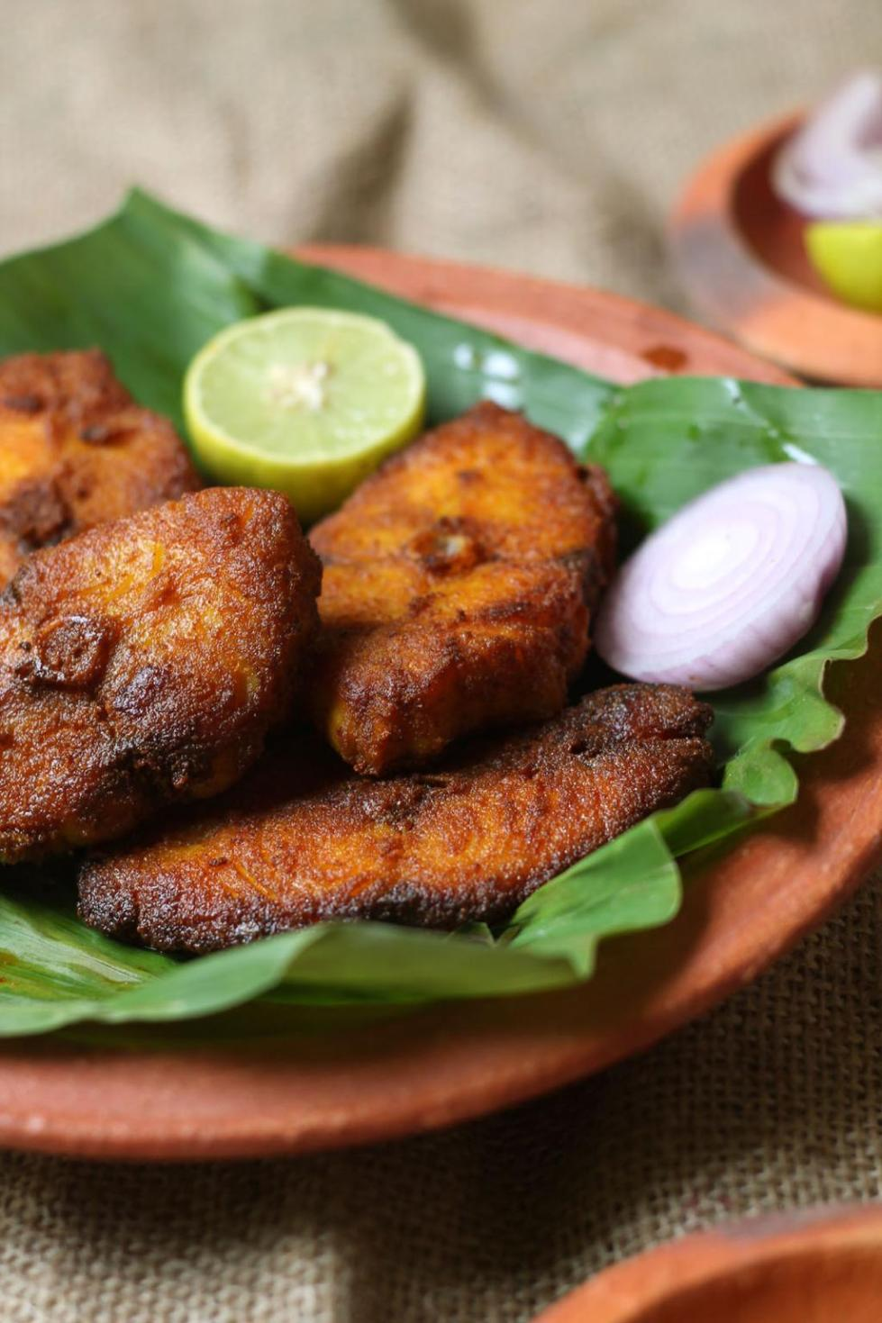 Kerala fish fry meen varuthathu recipe suji 39 s cooking for Cliffords fish fry
