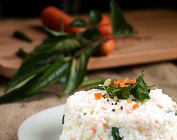 Curd rice or South Indian Thayir sadam