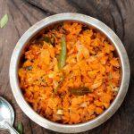 Carrot Mezhukkupurati (Kearala style Sauteed Carrot)