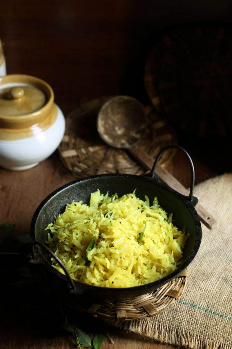 Kerala Style Cabbage Thoran