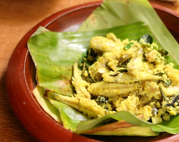Meen Peera Vattichathu or Fish With Coconut