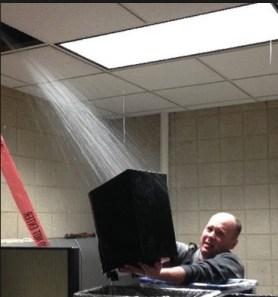 bina içinde su kaçağı