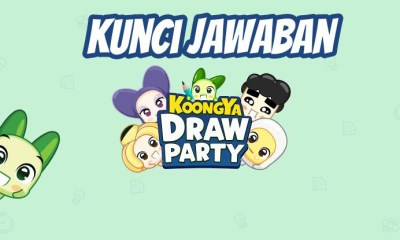 kunci jawaban koongya draw party