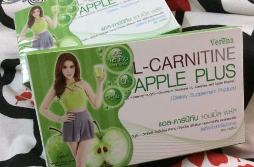 Review L-Carnitine Apple plus