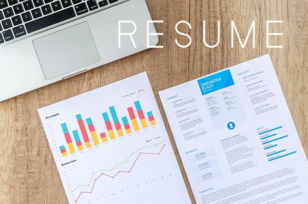 รับเขียน Resume รับทำ Resume ภาษาอังกฤษ
