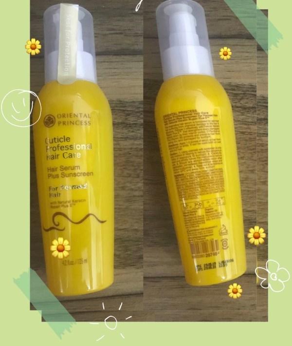Cuticle Professional Hair Care Hair Serum Plus