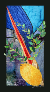 """Arba Minim"" decorative sukkah banner from The Sukkah Project™"