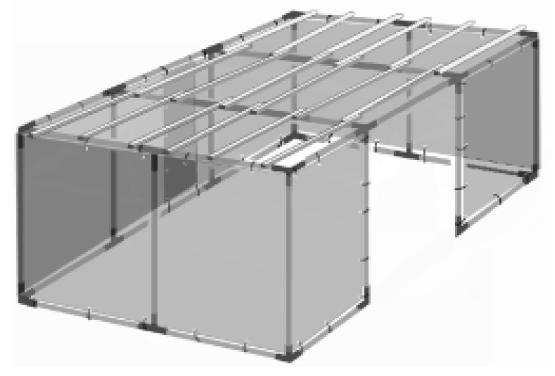 12x24 Tubular Sukkah Kit