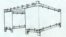 12x12 Wood-Frame Sukkah Kit