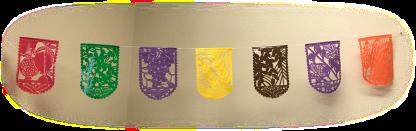 Papel Picado Sukkot Harvest Flags sukkah decoration from The Sukkah Project®