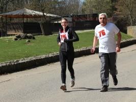 Safariběh ČSOB 2017: Monika Leová poběží v ZOO Dvůr Králové pro nosorožce. Foto (c) Michal Súkup
