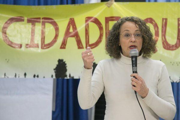 """Luciana Genro: """"O Orçamento Participativo precisa de uma profunda renovação"""". ( Foto: Guilherme Santos/Sul21)"""