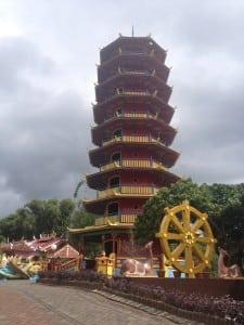 Pagoda in Tomohon City