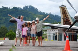 Tourist take Flight to Tana Toraja