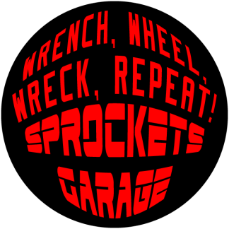 Sprocket's Garage Decals