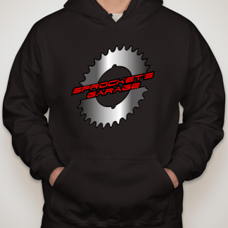 Sprocket's Garage Hoodies