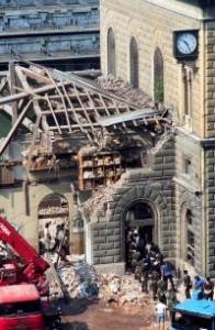 Foto della stazione di Bologna 2 Agosto 1980