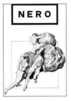 Nero prima serie n. 4 fanzine copertina