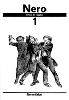 Nero seconda serie n. 1 fanzine copertina