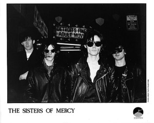 The Sisters Of Mercy - foto promo della band