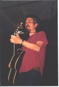 Howe Gelb Giant Sand guitar 3 Interzona Verona 28 03 2003