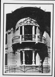 Domestic Exile cartolina 4 casa liberty a Firenze