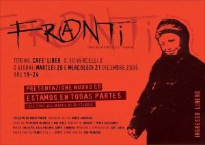 Franti flyer Torino Cafe' Liber dicembre 2005