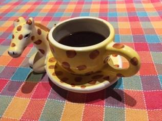 Caffè zoologico: la giraffa