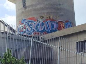 Street art, Cima Palon, Monte Bondone, Vason, Trento
