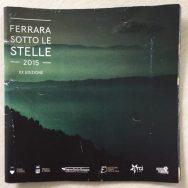 Ferrara Sotto le stelle 2015 flyer