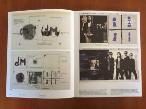 Depeche Mode, I feel you (1993), Artwork boards, Mute - A visual document From 1978 -> Tomorrow