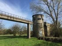 Il vecchio acquedotto di Boara Polesine a Rovigo, nella golena del fiume Adige