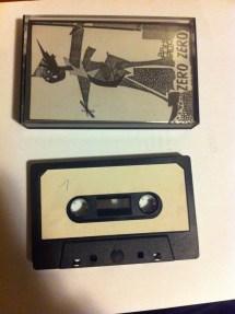 Fanzine Zero Zero tape lato 1