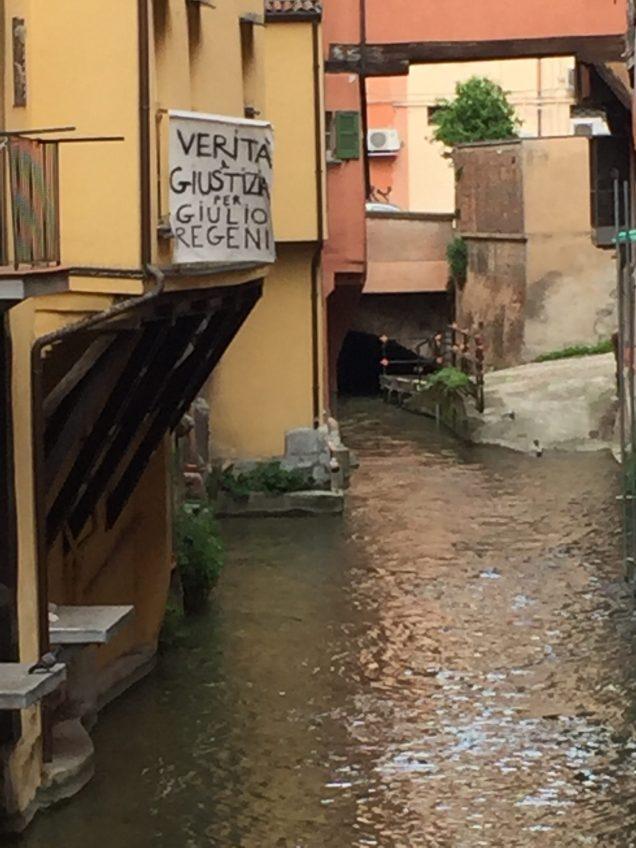 Bologna per Giulio Regeni