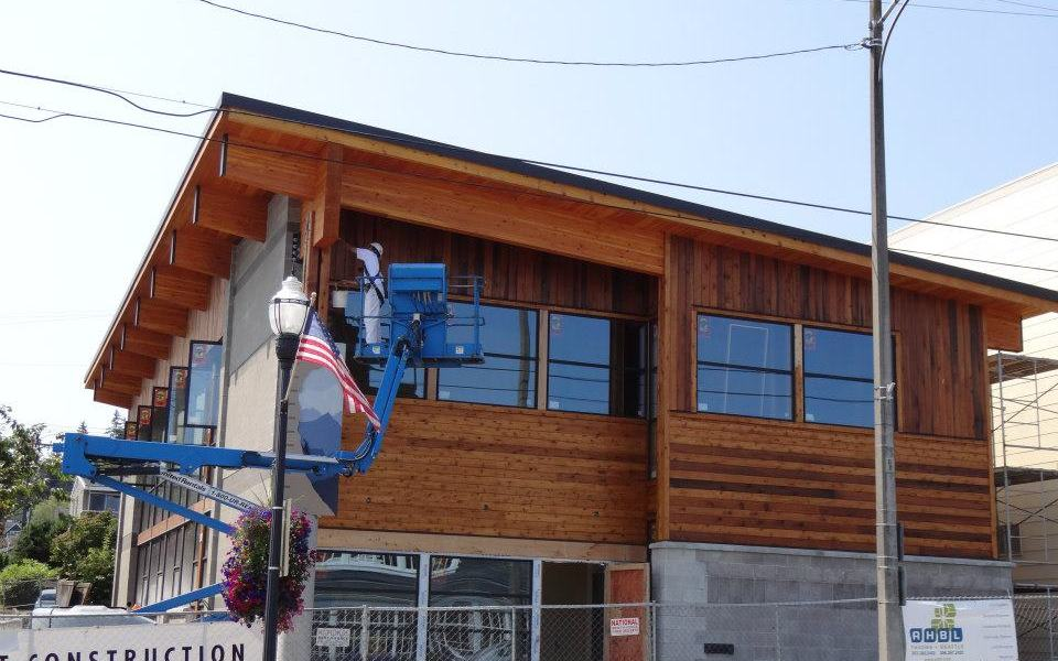 Lift Safety on Tacoma Mountaineers Building