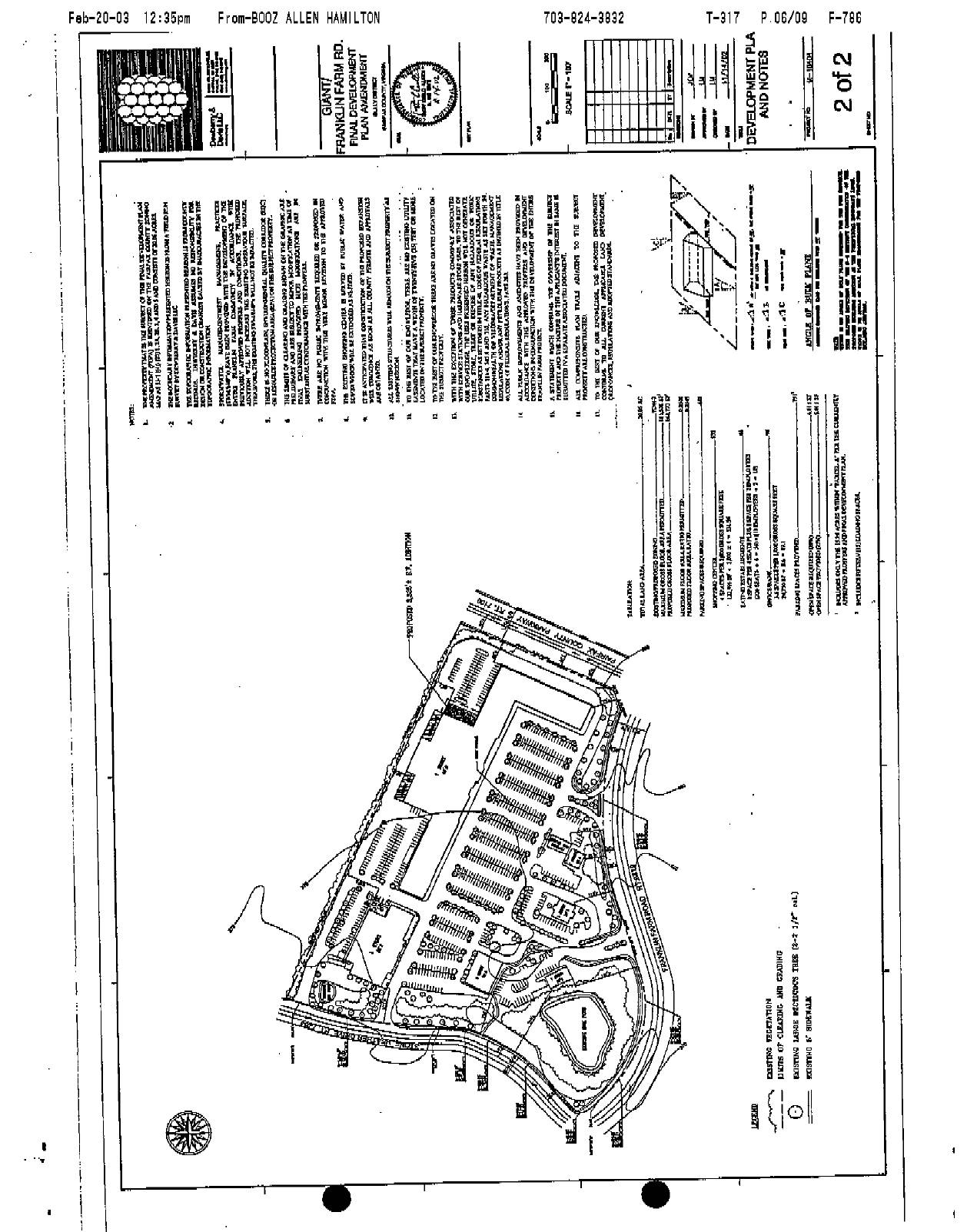 Agenda for 3 March 2003 Sully District Land Use and