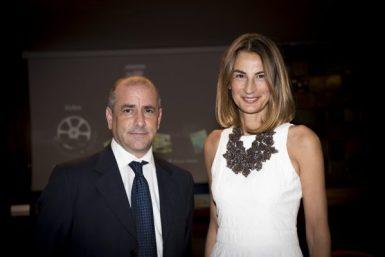 Michele De Lucia e Laura Valente