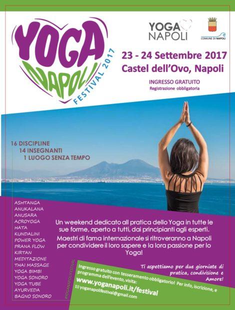 Yoga Festival Napoli Locandina