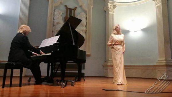 """CHIARA TAIGI – Recital """"Verdi e Mascagni si incontrano..."""" - Auditorium Orpheus - Torino"""