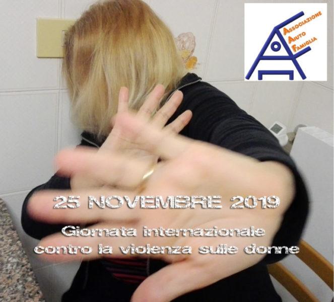 AAF Giornata contro violenza sulle donne 2019 - locandina