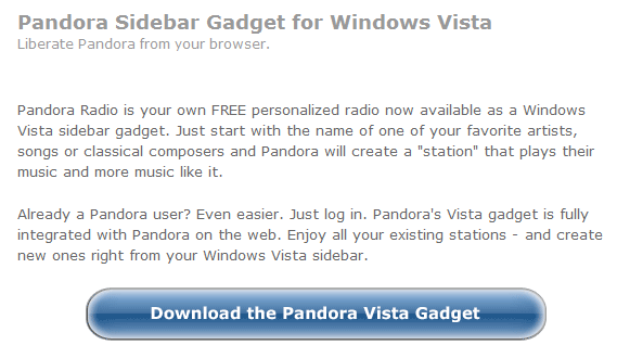 How To Listen To Pandora Radio on your Desktop