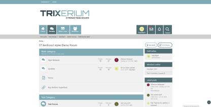 Trixerium Glacier - ST Xenforo 2 Pro Pack