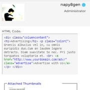 html bbcode and thumbnail