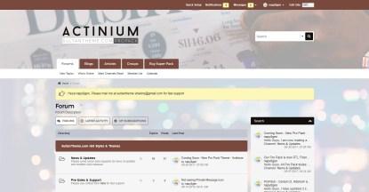 nutmeg - Actinium vb5