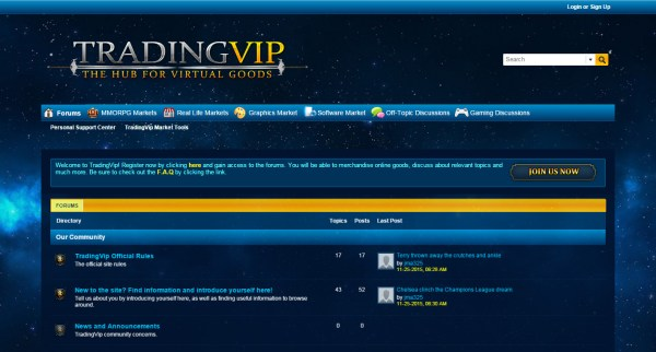 tvip - vbulletin cloud custom theme