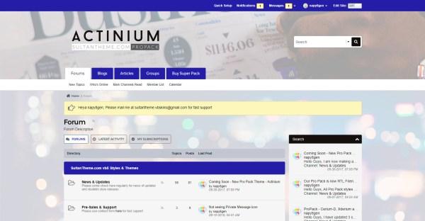 ultramarine - Actinium vb5