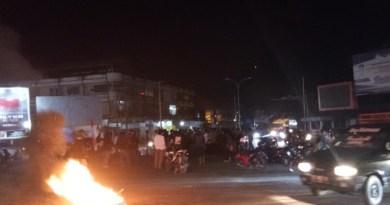 Demonstrasi Menolak Omnibus Law UU Cipta Kerja di Kendari