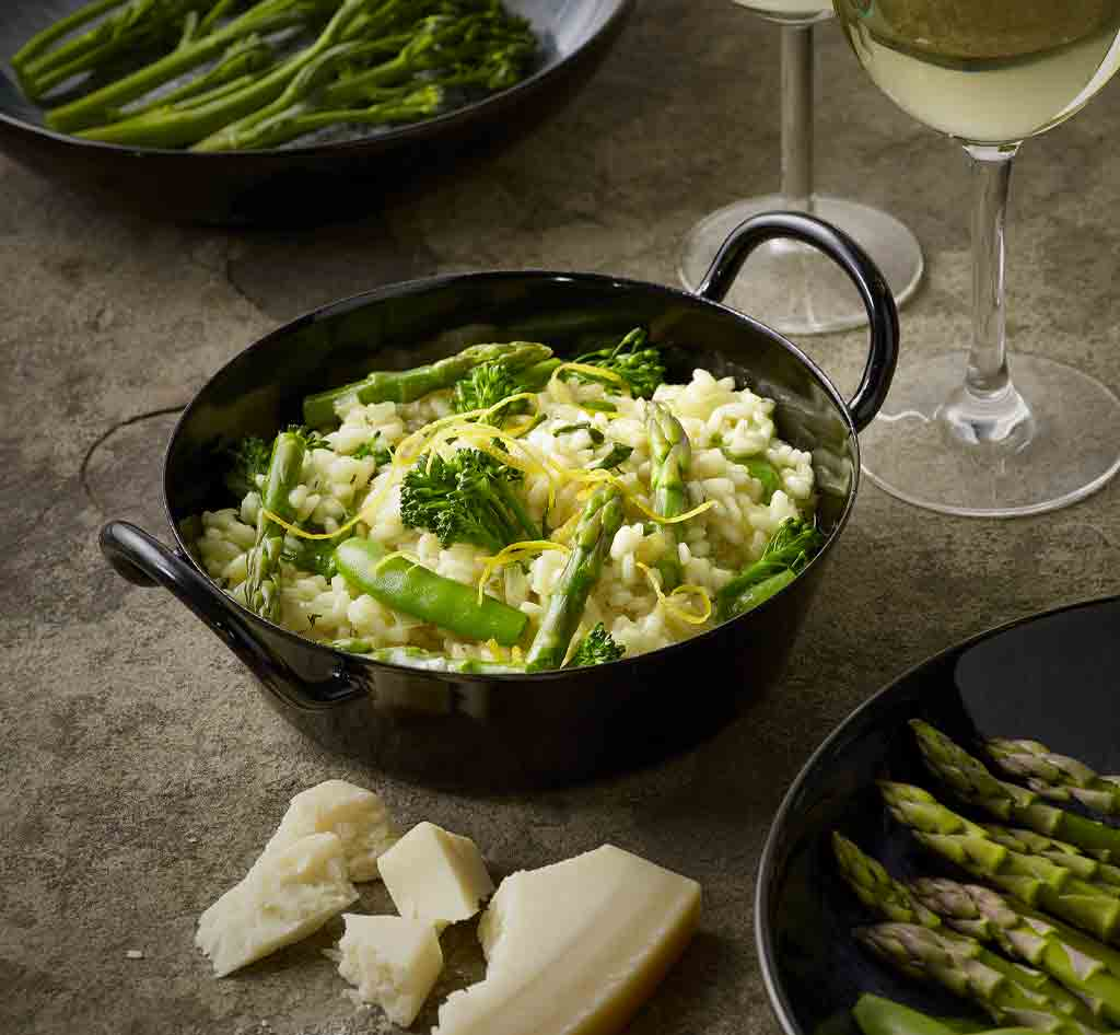 Green and good for you Risotto