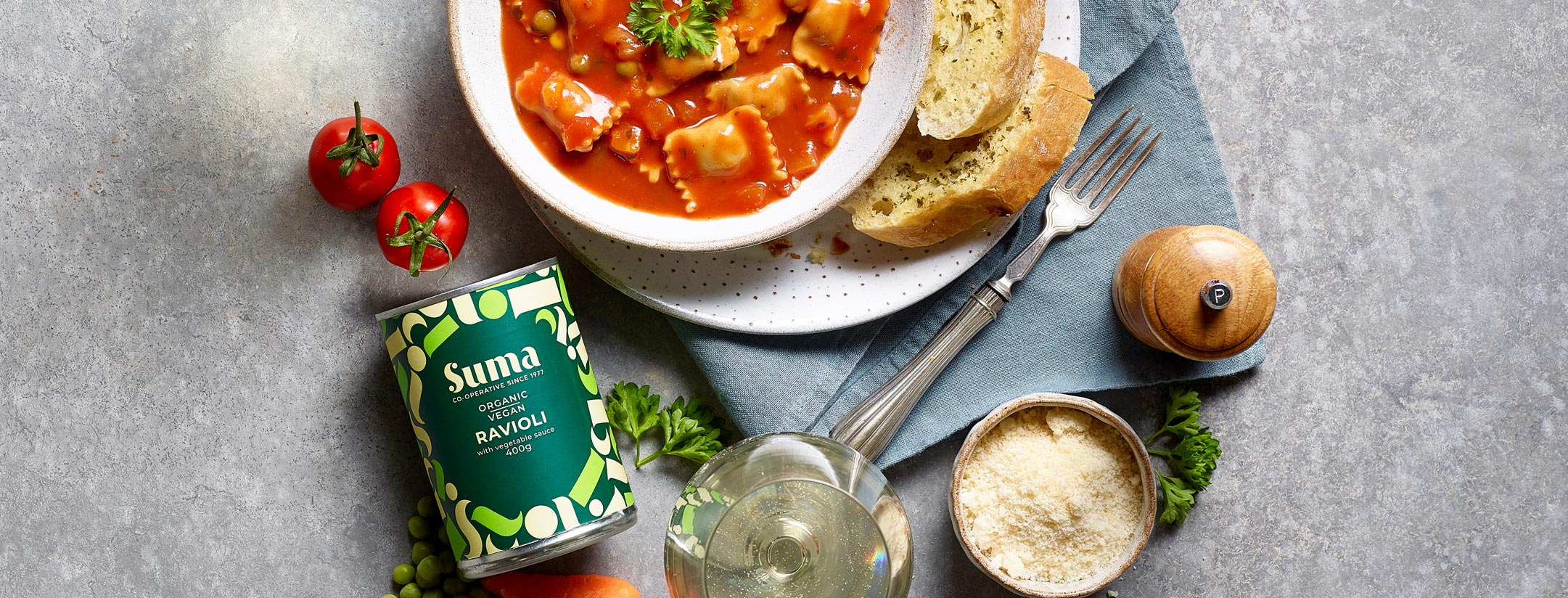 Suma Ravioli, Veganuary treats!