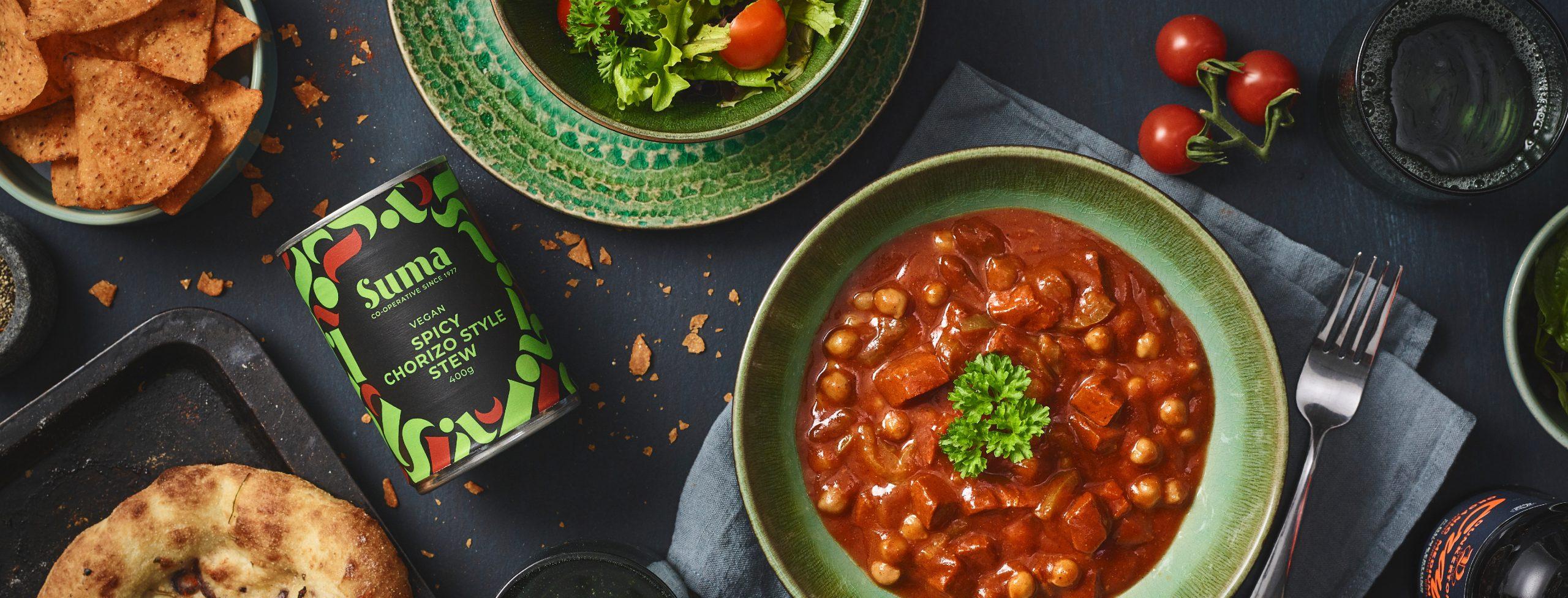 Vegan Chorizo Stew